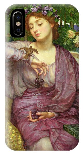 Lesbia And Her Sparrow IPhone Case