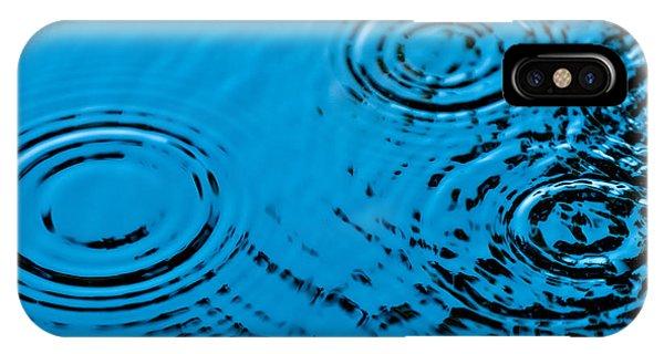 Pond iPhone Case - Let It Rain by Debi Bishop