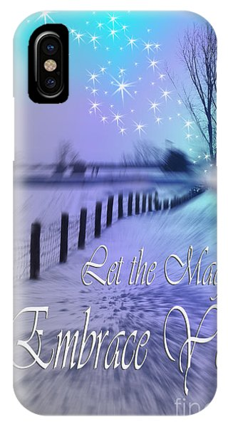 Let The Magic Embrace You IPhone Case