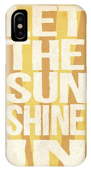 Yellow iPhone Case - Let The Sunshine In by Pati Photography