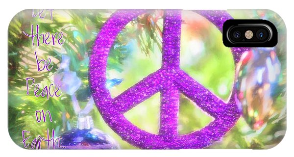 Let There Be Peace On Earth IPhone Case