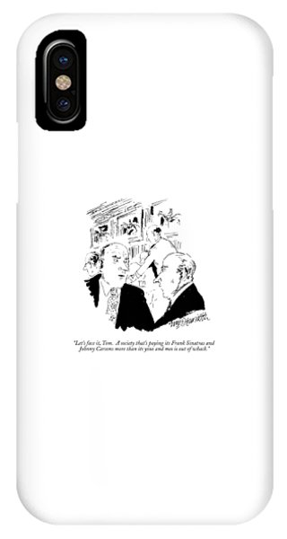 Let's Face IPhone Case
