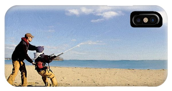Let's Go Fly A Kite IPhone Case
