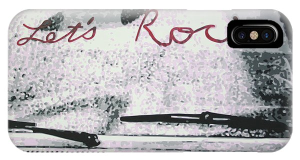 Lets Rock IPhone Case