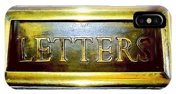 Letters Trough The Door IPhone Case