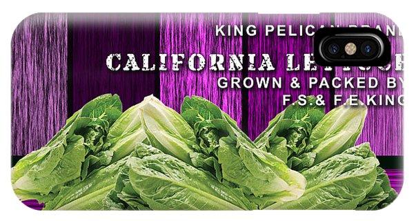 Lettuce iPhone Case - Lettuce Farm by Marvin Blaine