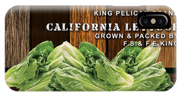 Lettuce Patch IPhone Case
