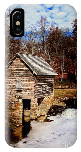 Levi Jackson Park Water Mill IPhone Case