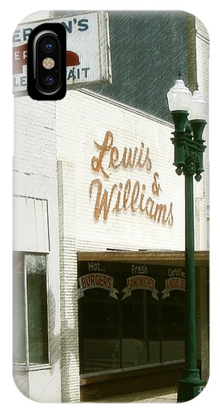 Lewis And Williams IPhone Case