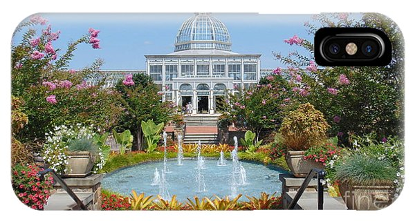 Lewis Ginter Botanical Garden IPhone Case