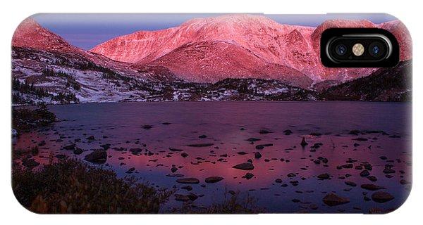 Lewis Lake Sunrise IPhone Case