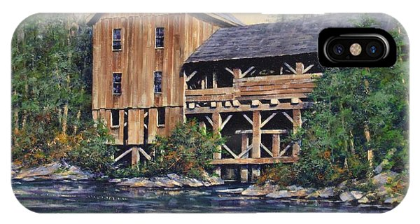 iPhone Case - Lewisville Grist Mill Afternoon by Jim Gola