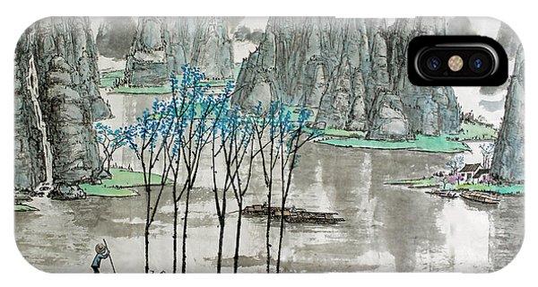 Li River In Spring IPhone Case