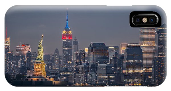 Empire State Building iPhone Case - Libertas by Eduard Moldoveanu