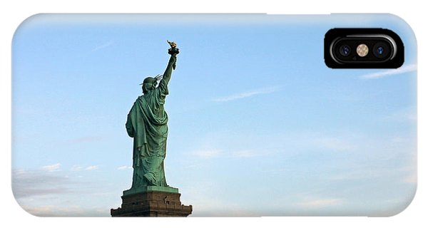 Liberty And Moon IPhone Case
