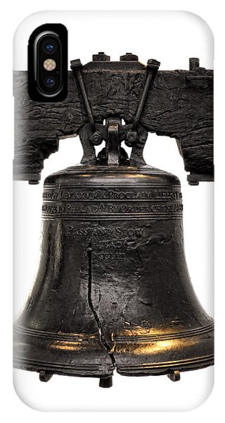 Bell iPhone Case - Liberty Bell by Olivier Le Queinec