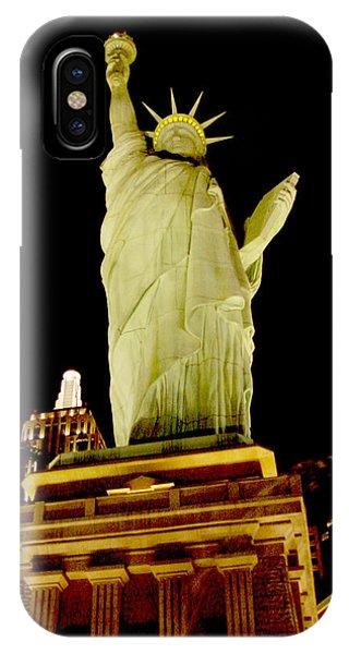 Liberty In Las Vegas IPhone Case