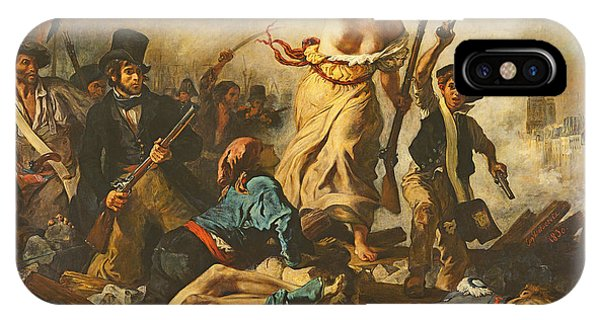 Liberty Leading The People, 28 July 1830 IPhone Case
