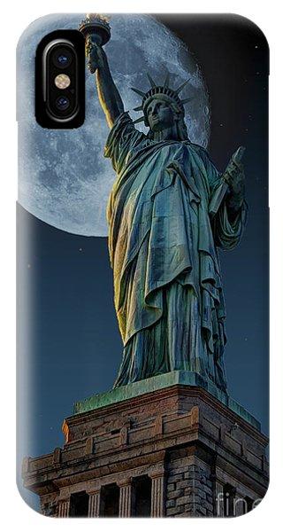 Liberty Moon IPhone Case