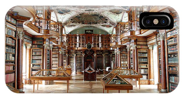 Library Of St Gall's Abbey Phone Case by Michael Szoenyi/science Photo Library