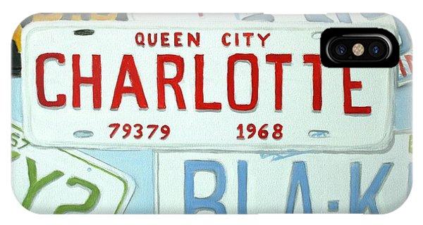License Plates IPhone Case
