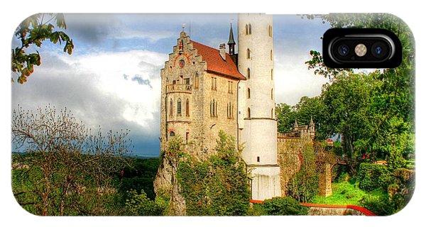 Lichtenstein Castle Swabian Alb Germany IPhone Case