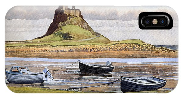 iPhone Case - Lindisfarne Castle by Anthony Forster
