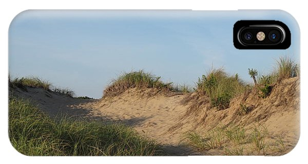 iPhone Case - Lieutenant Island Dunes by Barbara McDevitt