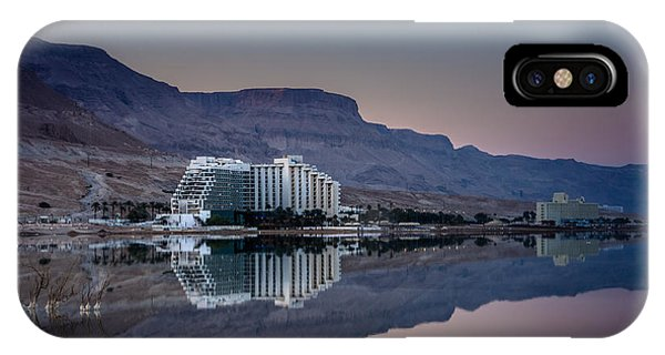 Life At The Dead Sea IPhone Case