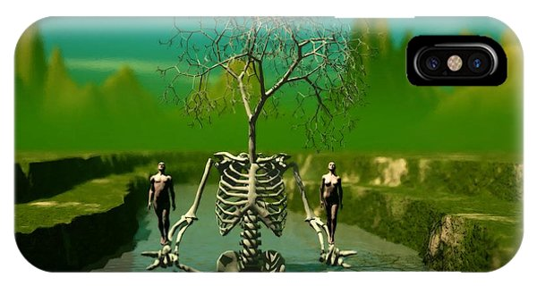 Life Death And The River Of Time IPhone Case