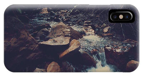 Half Moon Bay iPhone Case - Life Flows On by Laurie Search