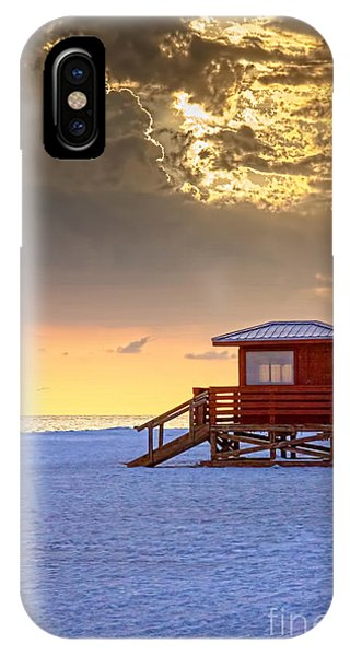 Beach Chair iPhone Case - Life Guard 1 by Marvin Spates