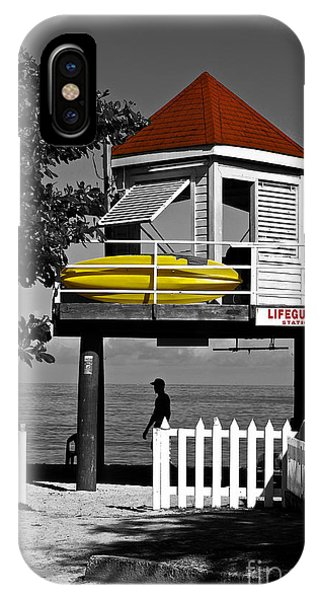 Life Guard Station IPhone Case