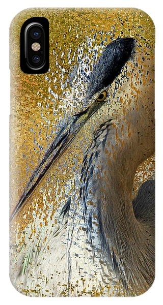 Life In The Sunshine - Bird Art Abstract Realism IPhone Case