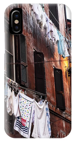 Life In Trastevere IPhone Case