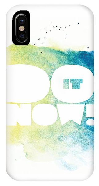 Office iPhone Case - Life Inspirational Motivational Typography Quotes Poster by Lab No 4 - The Quotography Department
