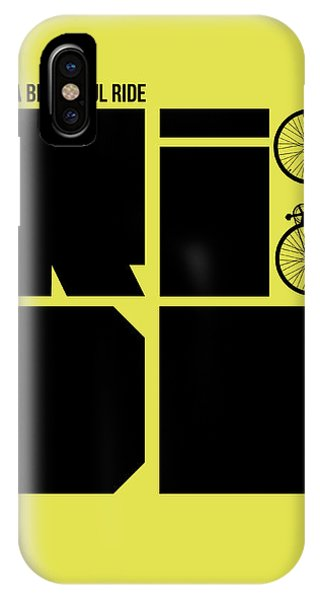 Witty iPhone Case - Life Is A Ride Poster by Naxart Studio