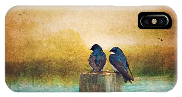 Life Long Friends - Days End IPhone Case