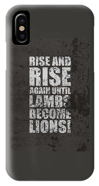 Again iPhone Case - Life Motivating Quotes Poster by Lab No 4 - The Quotography Department