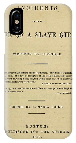 Life Of A Slave Girl, 1861 IPhone Case