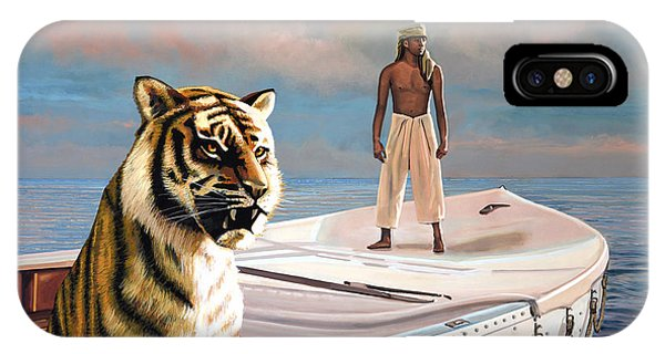 Pacific Ocean iPhone Case - Life Of Pi by Paul Meijering