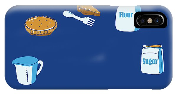Ingredient iPhone Case - Life Of Pie by Neelanjana  Bandyopadhyay