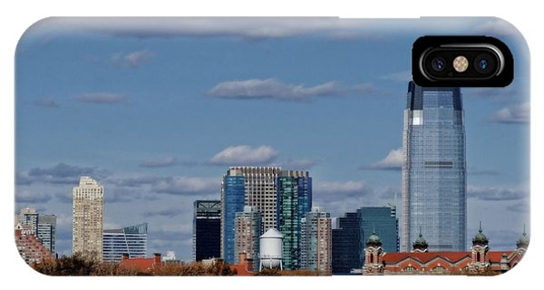 Battery D iPhone Case - Life On New York Harbor by Dan Sproul