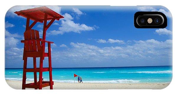 Lifeguard Chair  IPhone Case