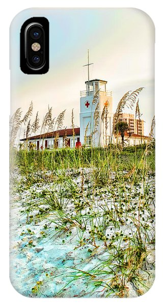 Lifeguard Station At Dusk IPhone Case