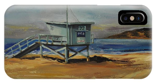 Lifeguard Station Twenty Two IPhone Case