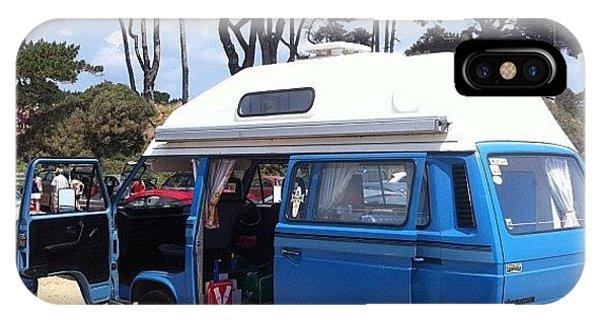 Vw Bus iPhone Case - Life's A Beach #camper #vw #vwcamper by Ash Hughes