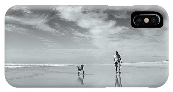 French iPhone Case - Life's A Beach by Karen Van Eyken