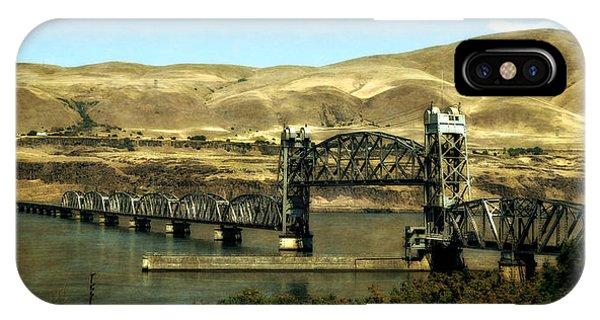 Lift Bridge Over The Columbia River IPhone Case