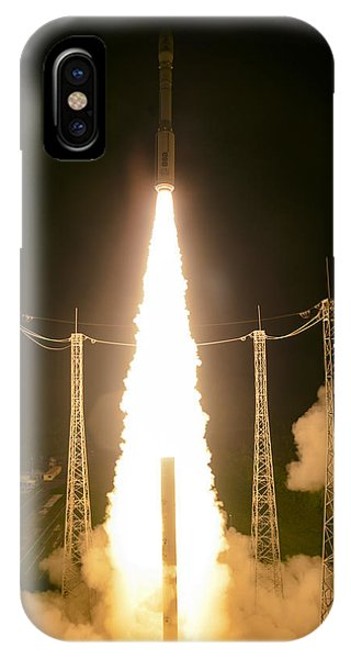 Liftoff iPhone Case - Liftoff Of Vega Vv06 With Lisa by Science Source